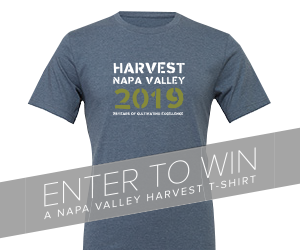 Enter to Win a Napa Valley Harvest T-Shirt